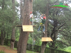 canopy tour mini infantil